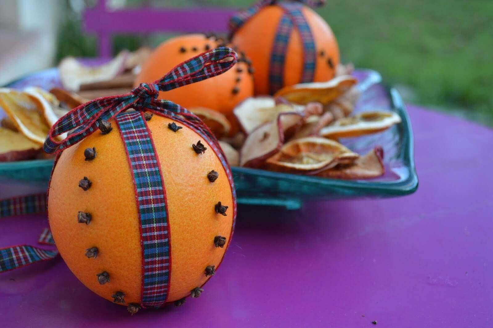 Appelsin og nellik
