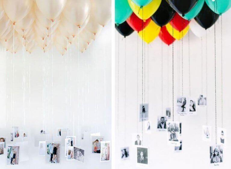 Ballonger med bilder