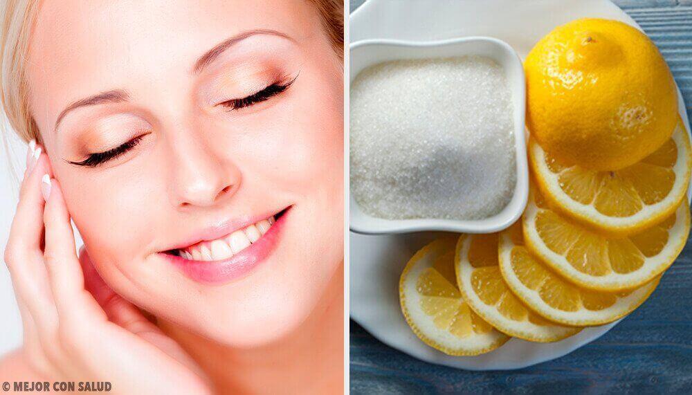 Slik bruker du sitron for vakker og sunn hud