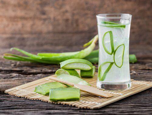 Aloe vera-drikk