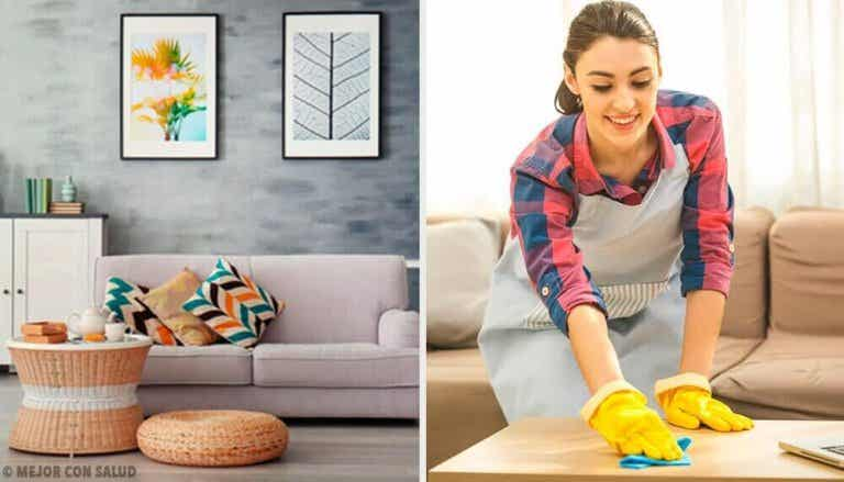 Gode rengjøringsvaner for å holde huset rent og ryddig