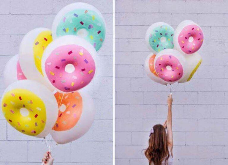 Donutballonger