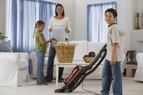 Gode rengjøringsvaner med familien