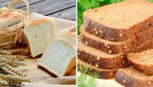 Fint brød eller fullkornbrød: Hvilket er sunnest?