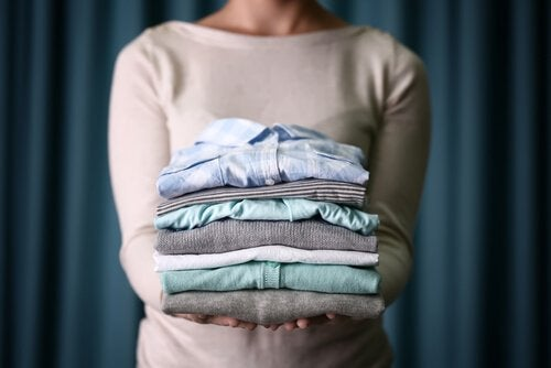 Brettede klær