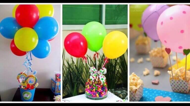 Ballonger og godteri
