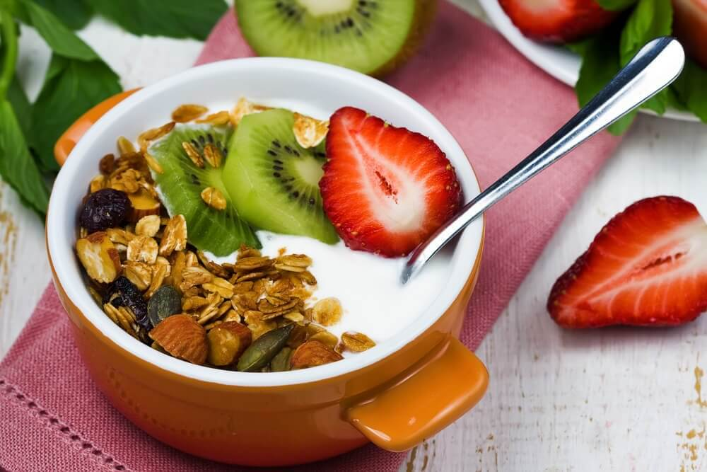 Gresk yoghurt med frukt