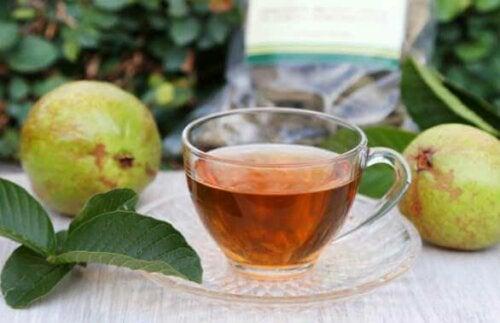 To løsninger med guavablader mot overflødig vaginal utflod
