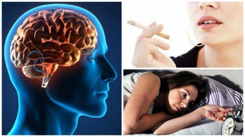 Er du bekymret for hjernens helse? Oppdag 6 dårlige vaner som kan påvirke den