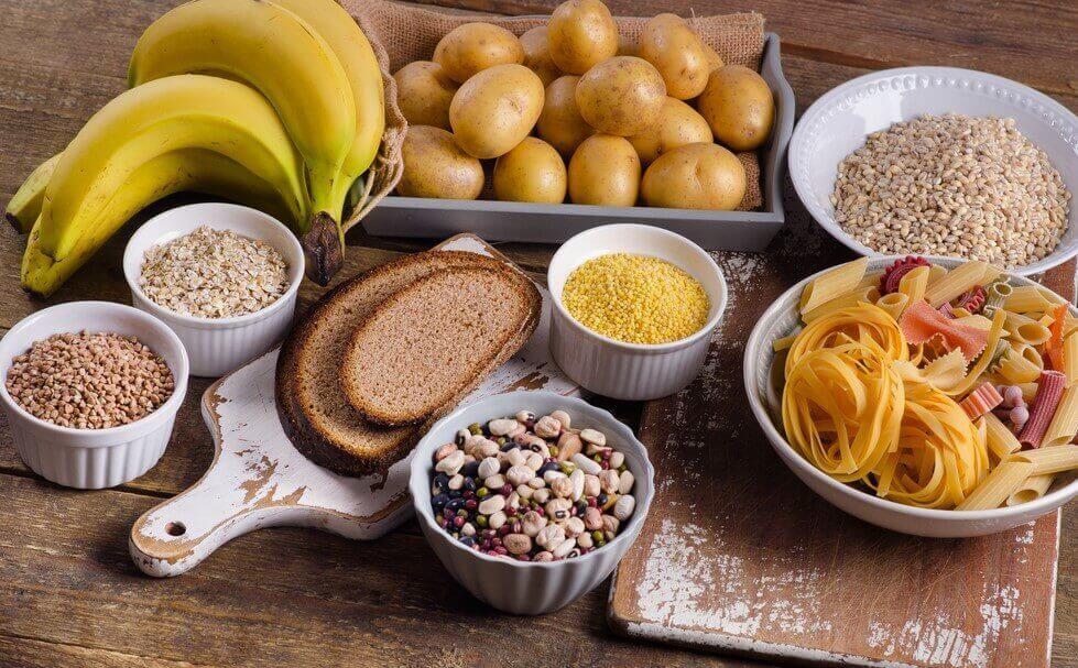 Matvarer som er rike på karbohydrater
