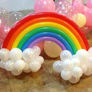 Regnbueballonger