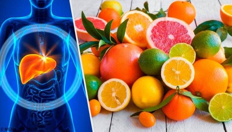 En flott diett for rensing av leveren