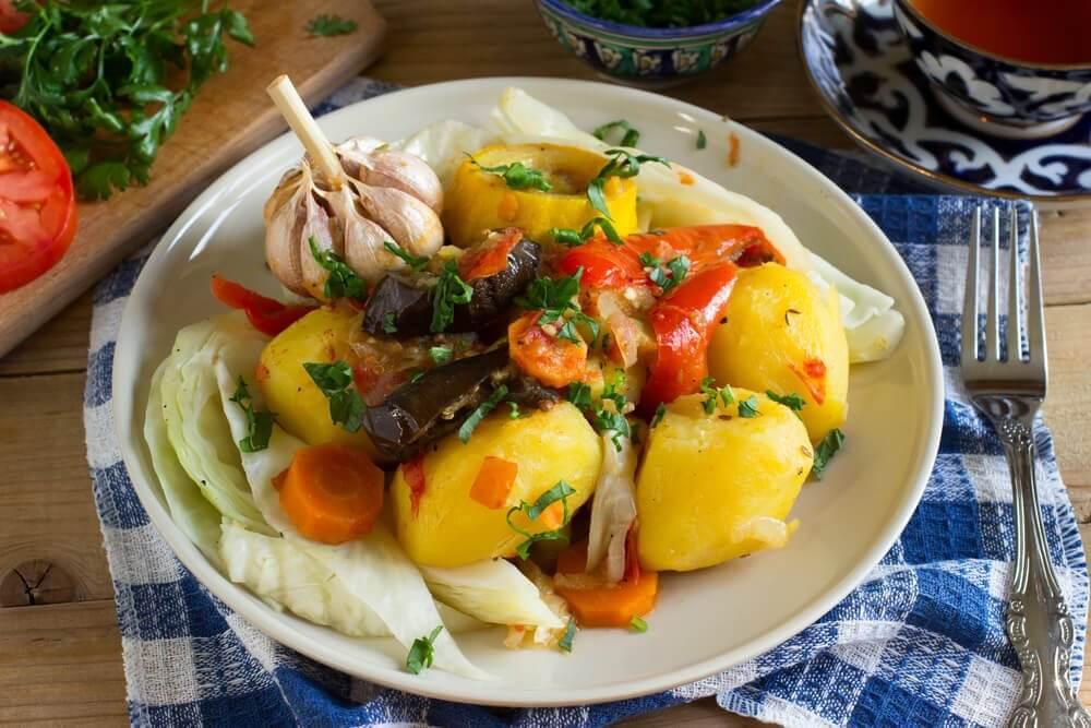 Salat med poteter