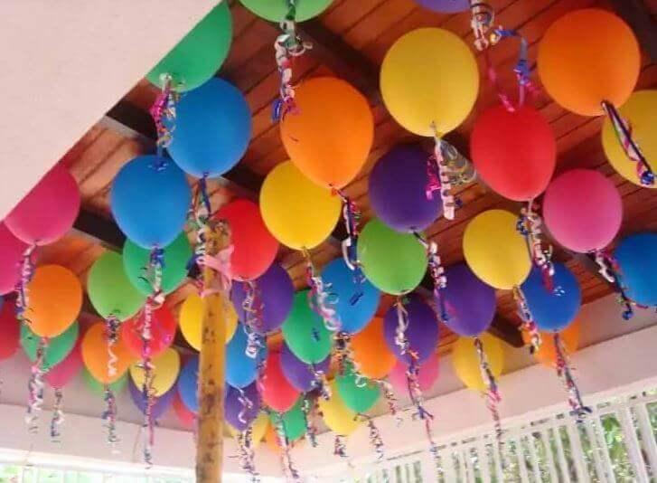 Ballonger i taket
