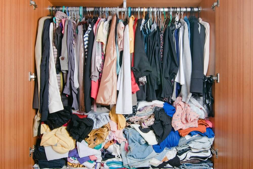 Uorganisert garderobe
