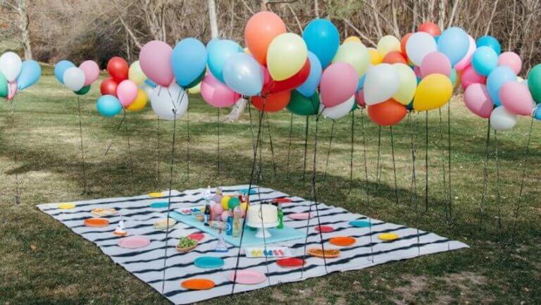 Ballonger utendørs