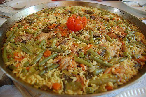Valenciansk paella