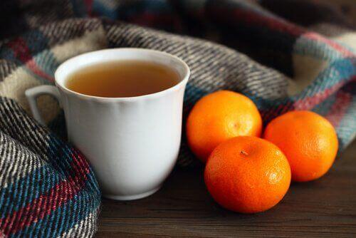 Reduser stress med mandarinte