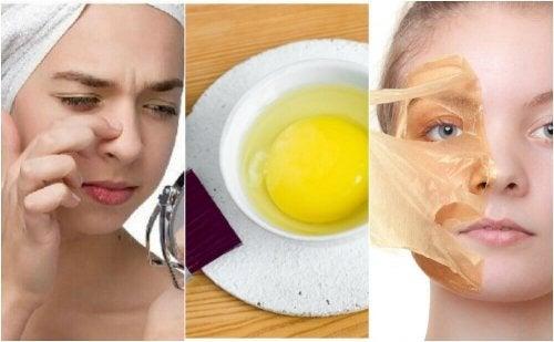 5 ansiktsmasker med egg for vakrere hud