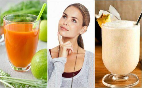 5 naturlige smoothies for å styrke hukommelsen