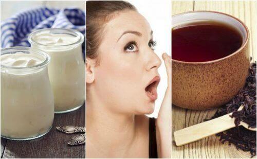 7 remedier for å bekjempe dårlig ånde naturlig