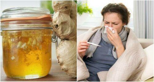 Bekjemp forkjølelse med hjemmelagd honning- og ingefærsirup