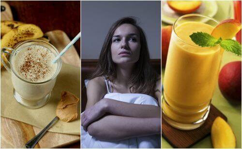 Bekjemp søvnløshet naturlig med disse fem smakfulle smoothiene