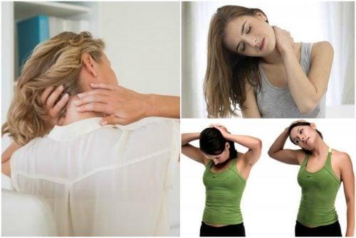 De 6 beste øvelsene for å redusere nakkesmerter