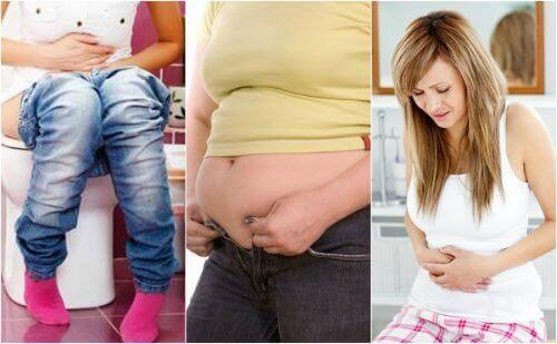 Fem fordøyelsesproblemer som kan forårsake vektøkning