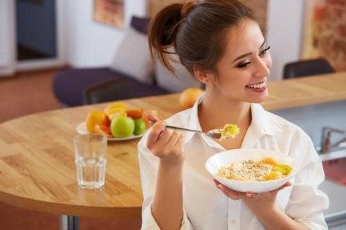 Fem regler for frokost når du passer på vekten din