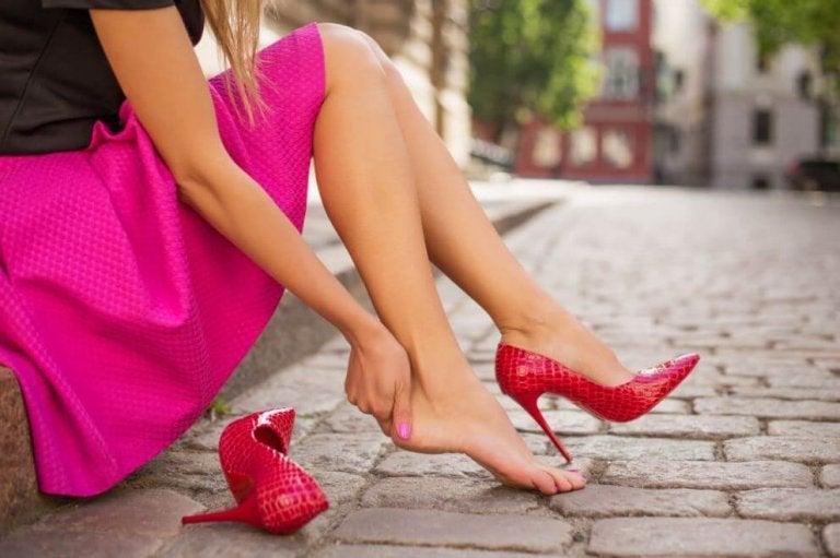 Fem tips for å hindre at dine nye sko skader deg