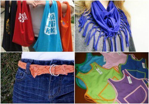 Ni fantastiske måter å resirkulere gamle bomullsskjorter på