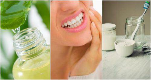 Seks naturlige hjemmeremedier for å behandle gingivitt naturlig