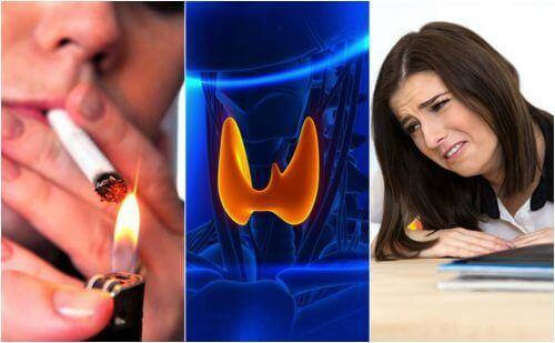 Syv dårlige vaner som kan påvirke skjoldkjertelhelsen din