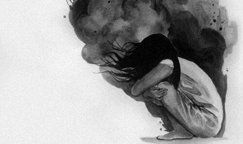 Jente med angst