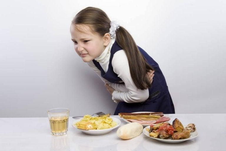 Barn med magesmerter