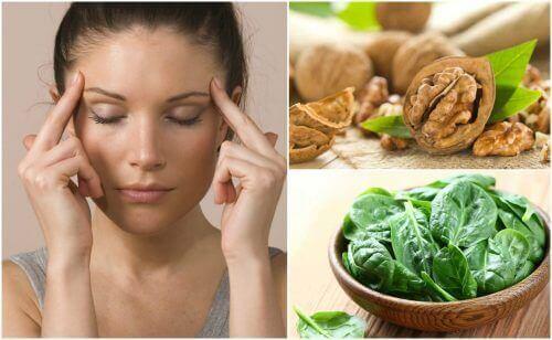 7 matvarer som hjelper deg med å styrke hjernens aktivitet