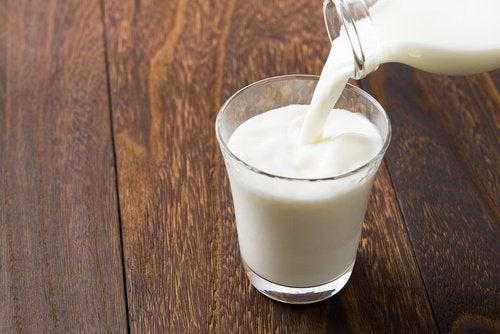 Melk mot solbrenthet