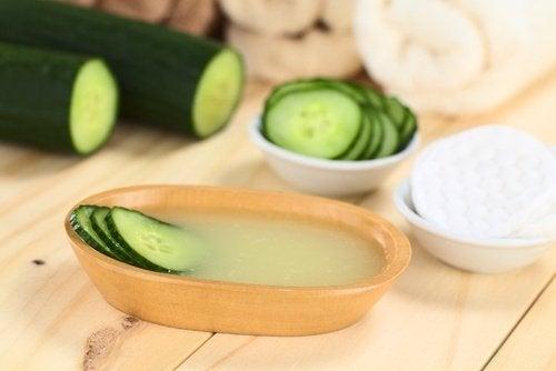 Fordelene med agurk for huden din