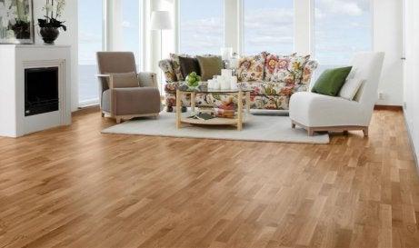Vakkert gulv