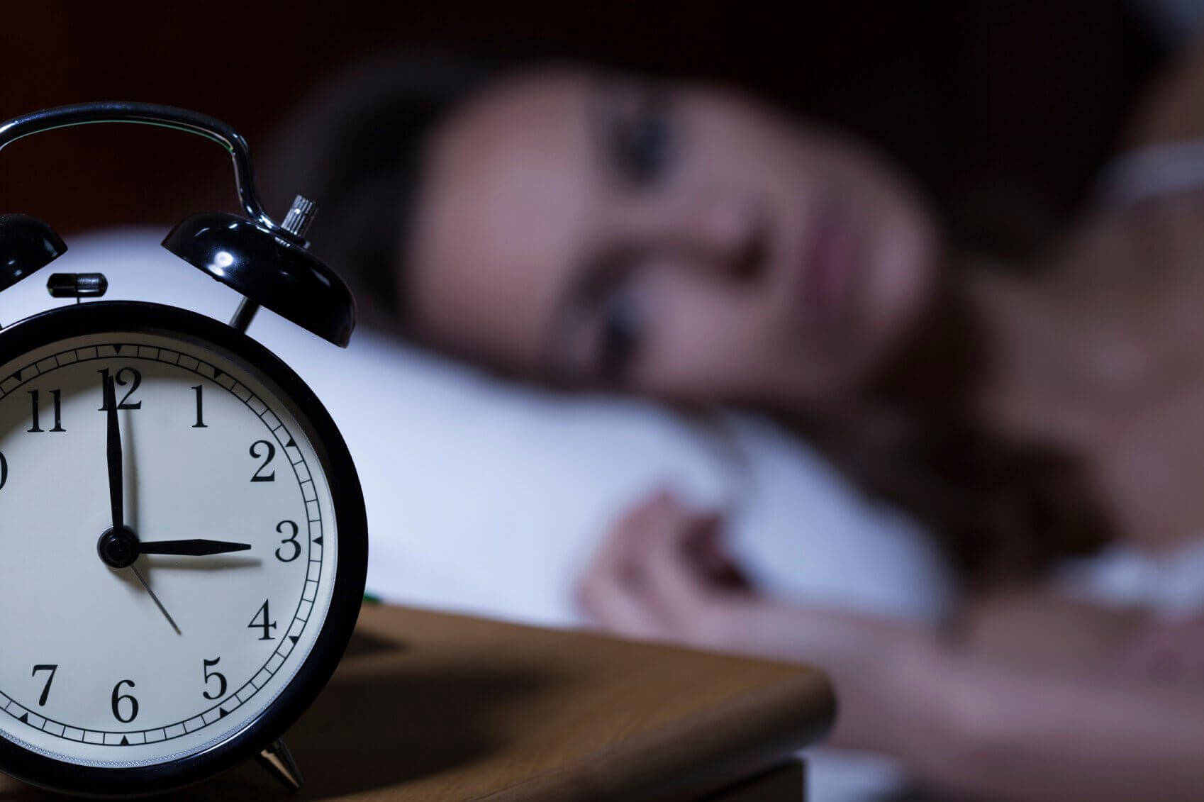 Kvinne får ikke sove