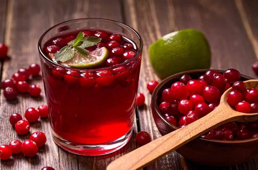 Tranebærjuice