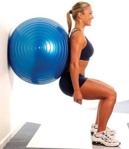 Øvelser med treningsball
