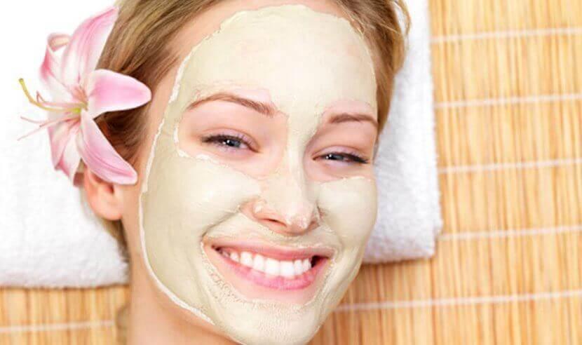 Maske mot fet hud