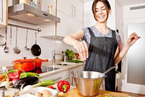 Matlaging med grønnsaker