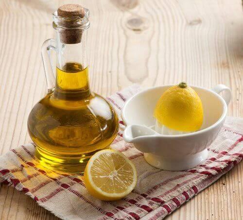 Sitron og olivenolje