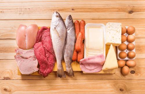 Proteinrike matvarer