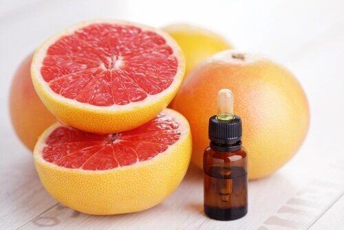 rensende grapefruktolje