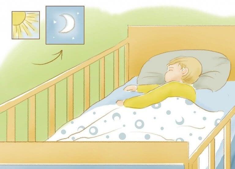 Sov godt: Lær barnet ditt å sove gjennom natten