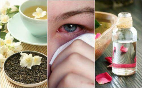5 remedier for å behandle øyeinfeksjoner naturlig